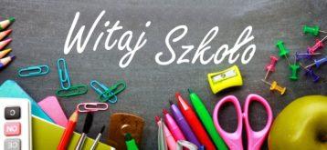 Inauguracja roku szkolnego 2020/2021-informacje dla uczniów irodziców