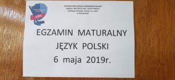 Matura 2019