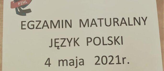 Egzamin maturalny 2021